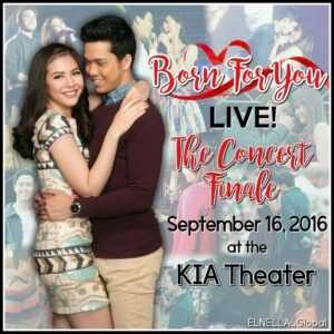 Watch Born For You LIVE! The Concert Finale (2016)