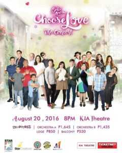 """Watch Dolce Amore, Choose Love """"The Concert"""" (2016)"""